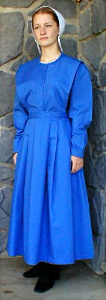 Old Order Mennonite plain dress