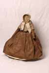 Quaker plain dress doll