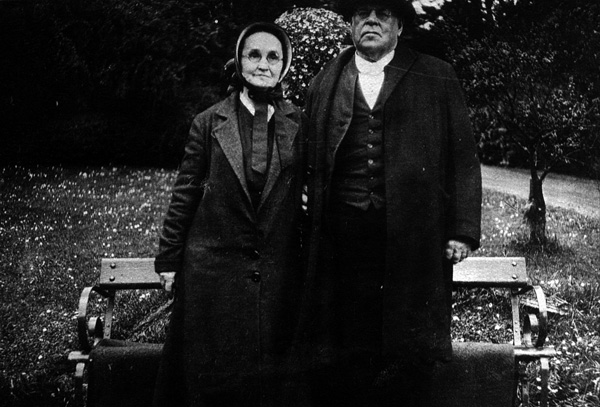 Anna and Thomas Fisher, plain Quakers