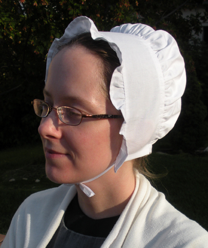 "Quaker Style ""Laura"" Cap from Rachel's Seamstress Services"